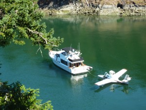 Interesting Watercraft Visit Selby Cove on a Lovely Summer Day